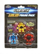 Lite brix 3 FIGURE Lite Up Pack - SERIES 1 - NEW